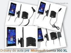 Nové držiaky do auta pre Microsoft Lumia 950 XL. Pasívny držiak Brodit pre  pevnú montáž v aute 8dc2cacb9b5