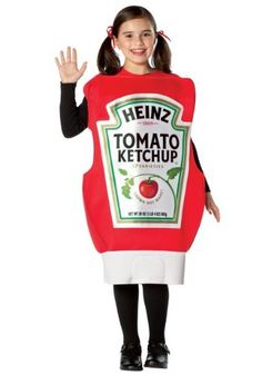 Heinz Squeeze Ketchup Bottle Child Costume Size 7-10 Rasta Imposta. $28.99. Includes: Polyfoam tunic