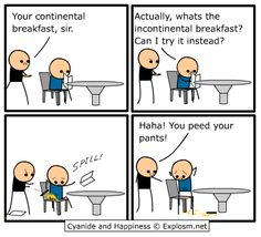 Cyanide and Happiness - Breakfast