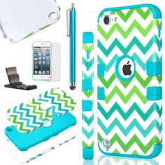 Hybrid-Rugged-Rubber-Matte-Hard-Case-Cover-Skin-for-Apple-iPod-Touch-5-5th-Gen