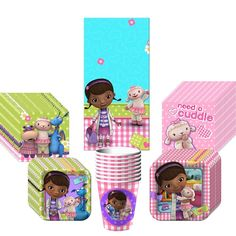 Doc McStuffins Birthday Party Supplies pack