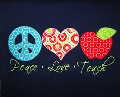 Seasons Embroidery & Gifts: Teacher Shirts