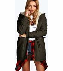 boohoo Carrie Detachable Sherpa Lined Parka - khaki AW calls for an update on your outerwear, and with lots of coats and jackets to choose from, you'll be all wrapped up in no time! From chic biker jackets and fitted blazers to parkas and pac-a-macs, k http://www.comparestoreprices.co.uk/womens-clothes/boohoo-carrie-detachable-sherpa-lined-parka--khaki.asp