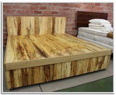 Fantastisch Hausgemachte King Size Bett Rahmen   Homemade King Size Bett Rahmen. Bett