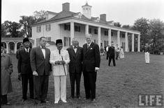 President of Indonesia Soekarno