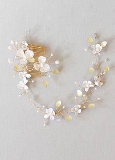 Flower Crown, Bridal Headpiece, Boho Chic Accessory,