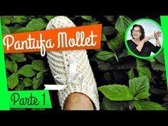 PANTUFA DE CROCHÊ | PARTE 1 - YouTube
