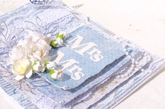 Mitt Lille Papirverksted: Mrs & Mrs Napkins, Tableware, Projects, Wedding, Log Projects, Valentines Day Weddings, Dinnerware, Blue Prints, Dinner Napkins