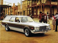 """plymouth volare station wagon.  i learned to drive in this baby. """"come drive volare today...drive small, the comfortable way"""""""