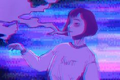 Pin by trash queen on yami kawaii in 2019 anime art, aesthet Dark Purple Aesthetic, Violet Aesthetic, Lavender Aesthetic, Aesthetic Grunge, Aesthetic Images, Aesthetic Art, Aesthetic Anime, Aesthetic Wallpapers, Psychedelic Art