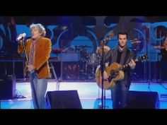 rod stewart and the stereophonics - handbags and gladrags - YouTube