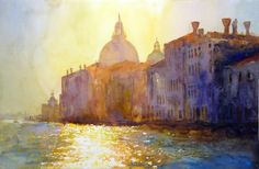 'Morning, The Grand Canal' Cecil Rice