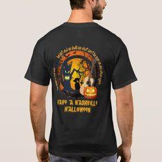 Have a Nashville Halloween Men's T-Shirt #halloween #holiday #creepyclothing #fashion #mensclothing