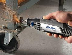 Dremel 4200  What you're looking at here is the latest Dremel. It's the most powerful model in their line of versatile rotary tools. Think of it as the Dodge Viper of Dremels. 6-speeds, top speed of up to 35K RPMs, tool-free EZ-change head, plus they offer 40+ accessories. Available October 12.