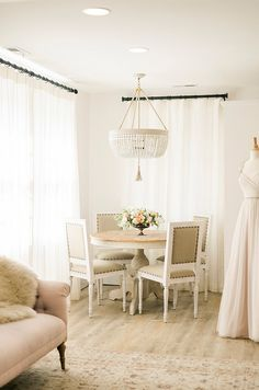 A Beautiful Bridal Experience: Garnish Boutique via OnceWed.com