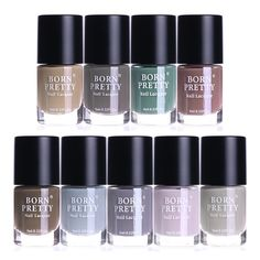 BORN PRETTY Nail Art Matte Polish Dull Effect Manicure Mattevelvet Lacquer Sealer Varnish 9 Colors >>> You can get additional details at the image link. (This is an affiliate link) Nautical Nail Designs, Nautical Nail Art, Daisy Nail Art, Daisy Nails, Color Change Nail Polish, Nail Colors, Nail Art Hacks, Gel Nail Art, Bright Nail Art