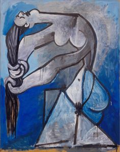 Picasso Looks at Degas. View an online sampling of Picasso and Degas' works, and listen to Audio Tour selections. Degas Paintings, Picasso Paintings, Picasso Drawing, Picasso Art, Henri Matisse, Picasso Blue, Art Moderne, Art Plastique, Figurative Art