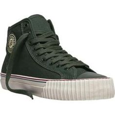 PF Flyers Center Hi Forest Green Canvas