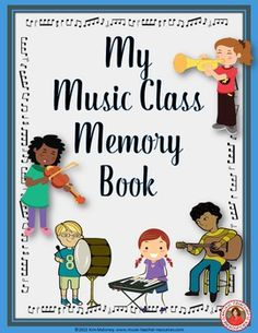 MY MUSIC CLASS MEMORY BOOK is an interactive memory book for the end of the year! ♫ CLICK through to read more or repin for later! ♫