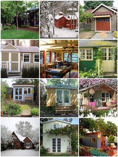 Backyard studio inspirations