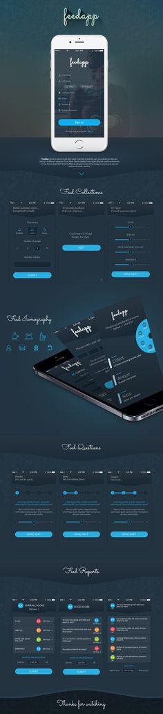 Flat App UI Kit on Behance
