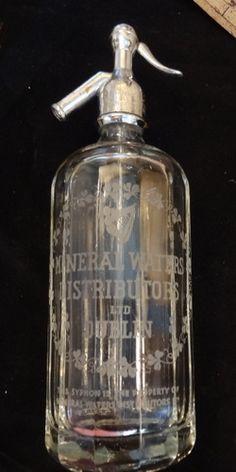 Fabulous Vintage Dublin Seltzer Bottle available at little-miss-maggie.com