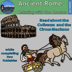 Ancient Rome: Coliseum & Circus Maximus or Relaxing with the Romans is one lesson from my larger unit, Ancient Rome Interactive Notebook. This lesson will have your students complete two foldables of notes as they read a one page passage on the Coliseum and Circus Maximus.   The one page reading can be used as is or can be used for close reading, note taking, pictorial representations, outlining, etc.