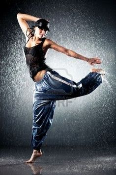 Life isn't about waiting for the storm to pass, its about dancing in the rain.