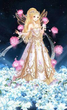 Cartoon Girl Drawing, Anime Girl Drawings, Anime Angel Girl, Anime Art Girl, Anime Fantasy, Fantasy Art, Card Captor, Anime Dress, Anime Princess