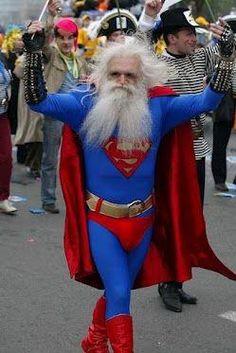 Superman got old!