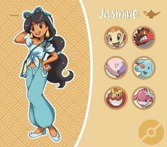 Et si les princesses Disney se retrouvaient dans le prochain RPG Pokemon ? Lol J… What if the Disney princesses ended up in the next Pokemon RPG? Disney Pixar, Anime Disney, Disney Marvel, Disney Fan Art, Disney And Dreamworks, Disney Magic, Disney Characters, Disney Jasmine, Pokemon Mew