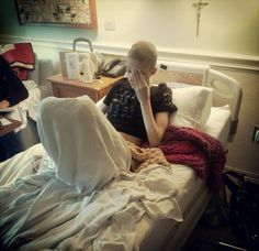 This is 19 year old Marie Fowler. She's a girl from my town. Yesterday she found out that her cancer has returned and it is now deemed terminal and she is already in Hospice Care. Her final wish is to meet Sleeping with Siren's vocalist Kellin Quinn. All Time Low, All About Time, Sleeping With Sirens, Kellin Quinn, Humanity Restored, I Love Music, Pierce The Veil, Faith In Humanity, Fall Out Boy