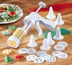 Easy-squeeze Perfect Holiday Cookie Press Cookie Press, Collections Etc, Holiday Cookies, Easy, Home Decor, Decoration Home, Room Decor, Interior Design, Home Interiors