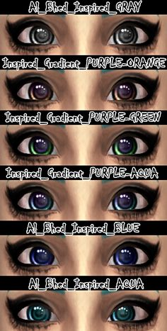 Non-Default Eyes at DecayClown's Sims via Sims 4 Updates