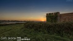 Watched the sun go down from Fort Richmond up above Perelle Bay. Blowin' a hooley out there tonight! #Guernsey #GreatThings  Link to the whole collection of 'Georgie's Pic Of The Day' :-http://chrisgeorge.dphoto.com/#/album/4daaes  Picture Ref: 29_09_15 — in Guernsey.