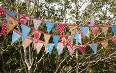 carnival bunting, by the yard by Starlit Nest, via Flickr