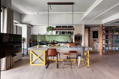 appartement style industriel vintage