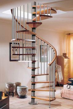 Floor Design: Beautiful Wodden Spiral Staircases Design, breathtaking spiral staircase, how to design a spiral staircase calculator ~ 2 Quick