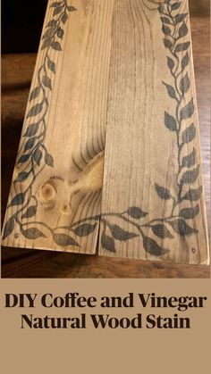 Reclaimed Wood Projects, Wooden Projects, Crafty Projects, Diy Projects To Try, Diy Home Crafts, Wood Crafts, Arts And Crafts, Wood Burning Crafts, Aging Wood