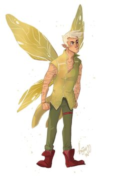 Male fairies>>> Tinkerbell gender bender