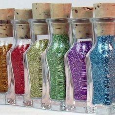Bottles, Glue & Supplies