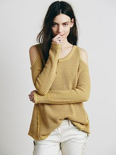 Free People Open Shoulder Pullover, £88.00