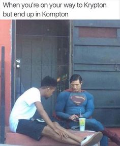 Superman Got Wrong GPS Directions
