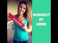 Buy your Thera-Band Loop with discount here… Mini Band Exercises, Arm Workout With Bands, Body Exercises, Resistance Band Training, Resistance Workout, Resistance Band Exercises, Easy Workouts, At Home Workouts, Pilates Band