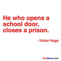 This is why one day I hope to open my after school program! Education Today, Education And Training, Education Quotes, School Doors, I School, Teacher Problems, Education Information, Teaching Quotes, Quote Citation