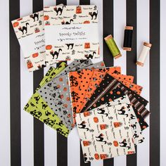 Spooky Delights by Bunny Hill Designs for Moda Fabrics.