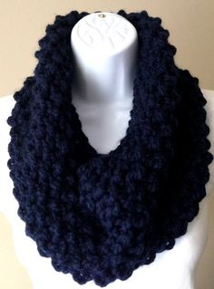 Knitted chunky cowl The Juniper by ForTheLoveOfAlyce on Etsy