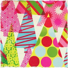 holiday prints & patterns 2011 by treiCdesigns, via Flickr