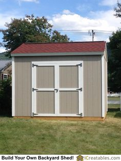 Garden Sheds Halifax 8x8 shed built in halifax, ma from plansicreatables | 8x8