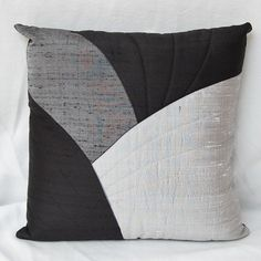 16 inch silk cushion cover with zip fastening
